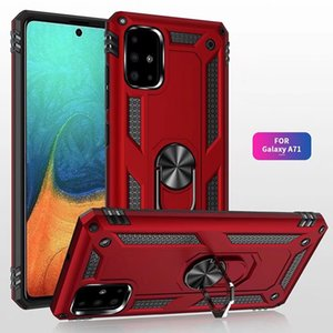 Antichocs cas pour Samsung Galaxy Note 20 Ultra S20 A71 A51 A41 A31 5G A21S A21 A11 A01 A30s A20S A10S A70 A50 A20 A20E Béquille Case
