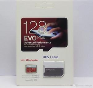 1 Adet 2020 128GB 256GB EVO PLUS microSDXC Micro SD Oyun depolama ve diğer cihaz depolama UHS-I Sınıf 10 Cep Bellek Kartı PRO
