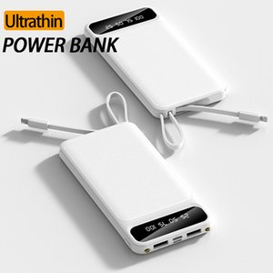YM-228 Portable Charger Dual USB Charging Interface Type-C Adapter 5000mAh Lithium Battery Powerbank For iPhone 11 Pro Android Device In Box