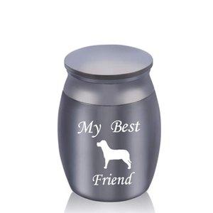 Pet Dog Mini Cremation Urns Funeral Urn for Ashes Holder Small Keepsake Memorials Jar My Best Friend 30 x 40mm