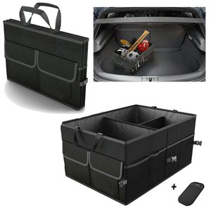Trunk Cargo Organizer Folding Caddy Storage Collapse Boxes Bin for Car Truck SUV 23.5 x 15.5 x 12 inches