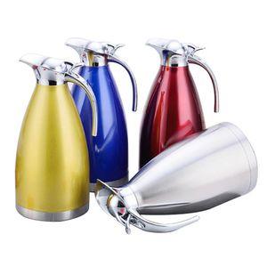 Botellas de acero inoxidable de 1,5 l de agua Cafetera jarra térmica Aislamiento Termo Hervidores de agua Frasco caldera de té
