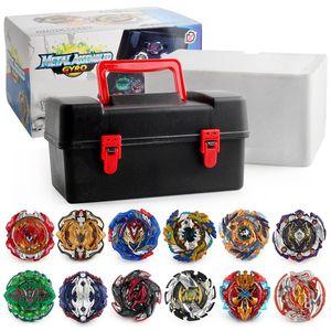Beyblade 12pc / box Beyblade Metal Fusion platzen Beyblades Arena 4D Beg Blade Launcher Kreisel Beyblade Spielzeug für Kinder Spielzeug