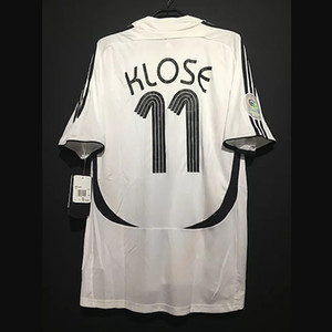 Retro Allemagne Football Maillots Matthaus Klinsmann Ballack Klose Futbol football vintage classique Camiseta shirt Kit Maillot
