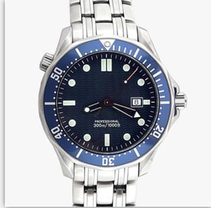 Planeta exterior Océano Master Ocean Correa de acero inoxidable Cierre plegable 43 MM Automático esfera azul Relojes para hombre Reloj de pulsera Hombre