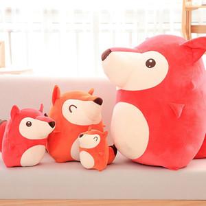 20/30 / 40cm Netter Ali Fox-Liebhaber-Baby-weiche Puppe-Plüsch-Spielzeug-weiche Baumwollplüschtiere Spielzeug Geburtstag Weihnachtsgeschenk Kinder Spielzeug