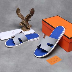 2019 Designer uomo Scivoli Europa Marchio Moda medusa Sandali Scuff Summer Huaraches Pantofole Infradito pantofole di pelle-uomo