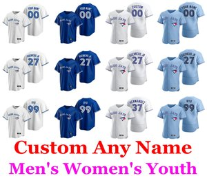Jerseys de béisbol Vladimir Guerrero Jersey Hyun-Jin Ryu Bo Bichette Randal Grichuk Lourdes Gurriel Hernández Billy McKinney Custom Hernea