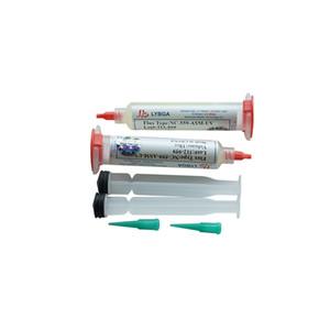 Freies Verschiffen LY 10cc NC-559-ASM-UV-Flux Paste bleifreie Lotpaste Lötflußmittel mit Nadeln Kolbenspritze Putter