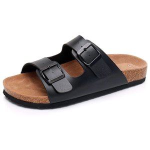 Kadın Arizona 2 Kayış Mantar Ayağın Sandalet Platformu Ayaklı Ayarlanabilir Metal Tokalar ile Casual Yaz Plaj Terlik Floplar