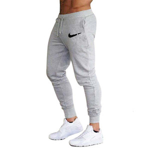 concepteur Nouveau style Hommes Marque Jogger Sweatpants Homme Salles de sport entraînement Fitness Coton Pantalon Homme Mode casual Pantalons Skinny piste