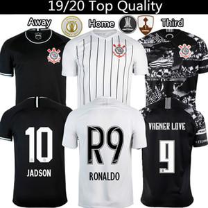 Corinthians Jadson Ronaldo Pedrinho Vagner Love maglia da calcio Uomo In casa Fuori terzo Jersey 19 20 Thailandia calcio tuta S XXXL