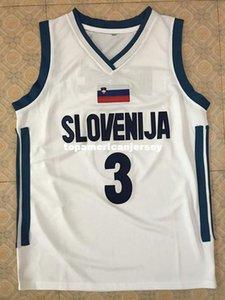 #3 Goran Dragic Team Slovenija Basketball Jersey All Size Embroidery Stitched Customize any name and name XS-6XL vest Jerseys Ncaa