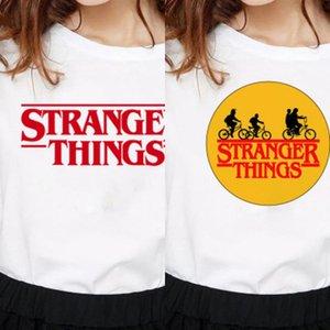 Showtly Stranger Things T-shirt Eleven Femmes Casual Top T-shirts T-shirt Femme Femme Vêtements Harajuku drôle top Film