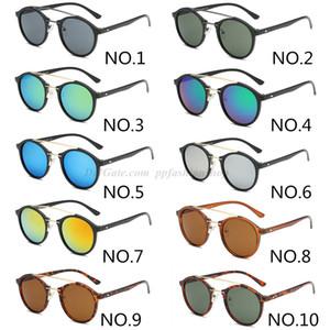 2020 Yeni Moda Marka Güneş Klasik Erkekler Ve Kadınlar Yuvarlak Retro Ultralight Gözlükler Tasarımcı 4266 Vintage Gözlük