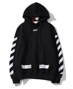 Womens designer hoodies Tide brand ofw hoodie ow white letter graffiti hooded sweater Foreign Trade couple hooded sweater