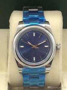 reloj de lujo m114300-0001 ostras serie 3A constante movimiento, reloj mecánico automático de los hombres, las series de movimiento constante de ostras, 39mm