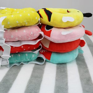 Cute Baby Head Protection Pad Headrest Pillow Adjustable Back Protector Safety Cushion FJ88