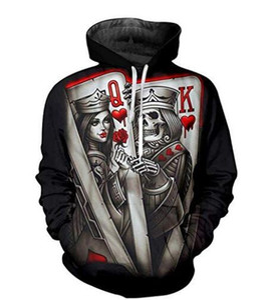 Otoño e invierno Ropa de hombre Impresión digital Sudadera con capucha bolsillo con capucha Casual Mens Designer Hoodies Moda sudadera con capucha