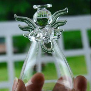 Стекло Висячей Ваза Бутылка Clear Angel Террариум гидропоника Контейнер завод Пот DIY Home Garden Decor 5см * 9см LXL1187-1