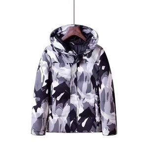 Mens Fashion Goose Down Designer Winter Jacket Parka das mulheres dos homens de alta qualidade Designer Brasão Parka Jacket Mens Inverno Casacos de Down