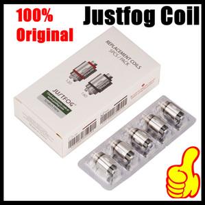 Original Justfog Coil Head 1.2ohm 1.6ohm Organic Japanese Replacement Coils OCC for C14 G14 S14 Q14 Q16 Q16C Starter Kit 100% Authentic