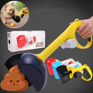 2 en 1 Eco-Friendly ramassage Portable Pet Dog Cat Waste Pooper Scooper Sac Easy Clip Merde outil de nettoyage Pet Supplies Accessoires