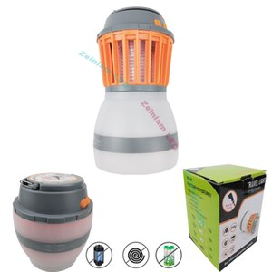 Camp lights Electronic Mosquito Killer Electronic Insect Killer Bug Zapper Trap Photocatalyst Fly Zapper UV Night Lights Trap Lamp