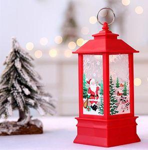 Decorazioni di Natale per casa Candela LED Decorazioni dell'albero di Natale LED di natale Albero di Natale ornamenti Pendenti