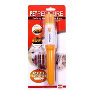 Produtos para animais de Estimação Série Gato E Cão Suprimentos Armadura Elétrica Conveniente Universal Plástico Manicure Reparação Prego Pedicure 4 hz k1