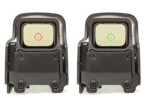 تكتيكي 558 المجسم أحمر أخضر البصر نقطة T-نقطة بندقية نطاق البصرية البصر رد الفعل البصر مع 20MM QD الجبال