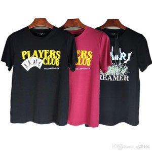الصيف الرجال الفاخرة قميص 20ss AM1R1 طباعة مصمم رجالي تي شيرت الرجال النساء الشارع الشهير نمط تي شيرت الهيب هوب التي شيرت الأعلى المحملة طباعة رسالة