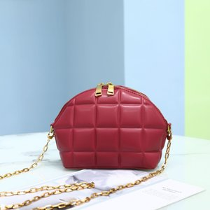 Net red with the chain shell bag Joker shoulder slung bag 2020 summer new minimalist women's bag