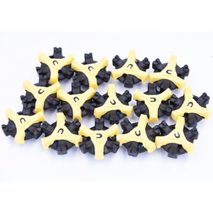 56 pcs TPR Golf Shoe Spikes Replacement Champ Cleat Fast Twist Screw Studs Stinger Golf Accessories Training Aids Shoe Spikes