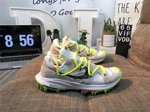 Erkekler ve kadınlar Zoom Terra Kiger 5 süet peluş uppers atletizm koşu ayakkabıları plastik tırnak taban boyutu 36-45