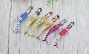 Multi-Funktions-Mermaid Wimperlockenwickler Wimpernklammern Pinzette Hilfsgerät Falsche Wimpern Wimpern Clip Schönheit Make-up-Tool mit opp Beutel