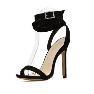 İnce topuklu çapraz askılı bayan sandaletleri, yüksek topuklu seksi sandaletler ile kadın gladyatörler için sandalet pompalar. GGX-028