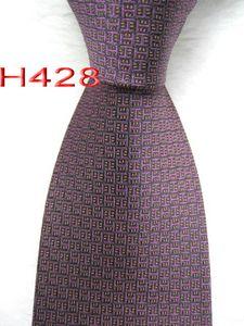 HH9 #100%Silk Jacquard Woven Handmade Men's Tie Necktie
