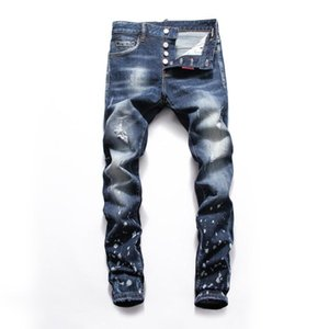 2020 mens designer biker jeans color fashion skinny Jogging pants casual man brand Hip Hop motorcycle Hip Hop mens skinny jeans