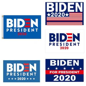 Biden 2020 Flag Sticker Set Donald Presidente Corpo de carro adesivos Mantenha a tornar a América Grande Partido Home Decor bandeira 5111 # 147