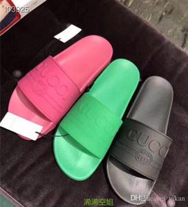 Vera pelle coloful diapositive sandali stile Medusa Scuffs causale di vibrazione di estate degli uomini di moda flop scarpe pantofole per uomo e donna con scatola 35-46