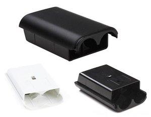 AA 배터리 X 박스 360 개 무선 교체 부품 도구 컨트롤러 교체 부품을 팩 커버 쉘 쉴드 홀더 케이스 키트 격실