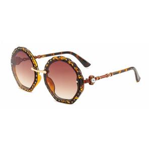 Damen-Brillen mit Diamantfassung Markendesigner-Brillen mit Diamantfassung UV-Schutz top Fashion Sunglasses Damenmode Brillen