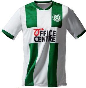 new 2021 FC Groningen soccer jerseys home away robben 2020 2021 Groningen Deyovaisio Zeefuik Daishawn Redan football shirts maillot de foot