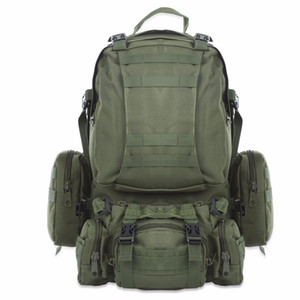 Hot Outlife 50L Outdoor Backpack Molle Military Tactical Backpack Rucksack Sports Bag Waterproof Camping Hiking Backpack Travel T190922