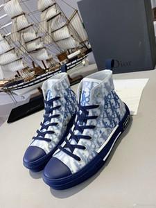 Dior 2020 nuovo modo uomini e donne scarpe casual selvatici scarpe comode sportive high-top uomini e donne viaggiano scarpe Zapatos de hombre