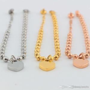 2017 Pay4U 2019 Pay4U frete grátis quente B48 recém-chegados pulseira marca ouro 18K jóias coração T moda banhado por jóias mulheres partido presente