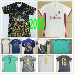 2020 Real Madrid Nouvel an chinois 4ème version spéciale de football Maillots DANGER JOVIC VINICIUS JR SERGIO RAMOS RODRYGO T-shirt personnalisé de football
