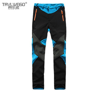 TRVLWEGO Hiking Camping Skiing Pants Outdoor Traverse Soft shell Trousers Waterproof Windproof Thermal For Women Beautiful Color