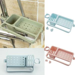 3 couleur multifonctions évier de cuisine éponge rack de bain suspendu Porte-Passoire Porte-bagages Organisateur de stockage racks Holder